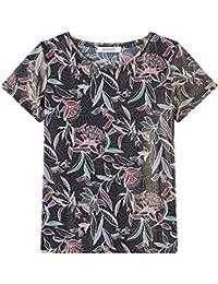Promod T-Shirt mit Glanz-Print