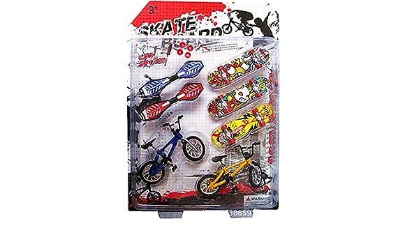 Autone 8/pcs Tech Deck Finger roue pour v/élo et skateboard pour enfants Jouets cadeaux