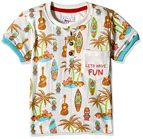 Donuts Baby Boys' T-Shirt (269947918 OFF-WHITE 06M HS)