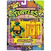 Teenage Mutant Ninja Turtles Retro Collection 4 Inch Action Figure Michelangelo by Playmates