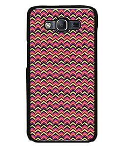 PrintVisa Designer Back Case Cover for Samsung Galaxy On7 G600Fy :: Samsung Galaxy Wide G600S :: Samsung Galaxy On 7 (2015) (Arrow Design In Pink And Black)