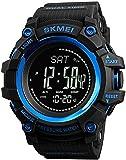 SKMEI Digital Dial Men's Watch-1358 Black
