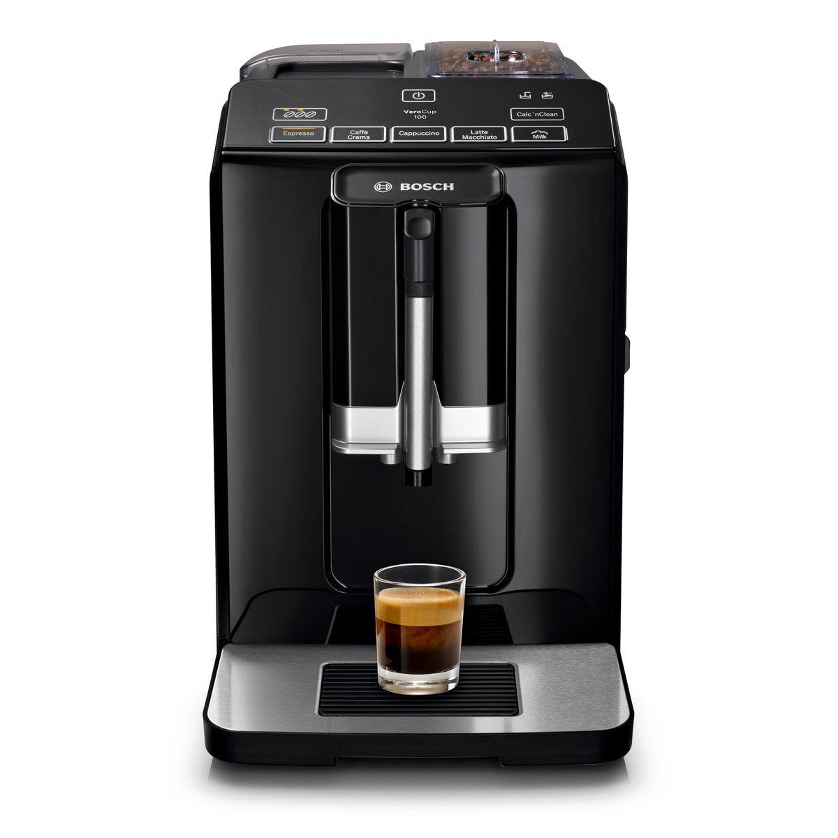 Bosch VeroCup 100 TIS30159DE Kaffeevollautomat (Keramikmahlwerk) schwarz
