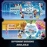 Novità regalo personalizzato Disney on Ice Birthday Concert theatre Christmas ticket Event Celebration party Holiday Disneyland Florida Paris personalizzato di qualsiasi dimensione qualsiasi colore qualsiasi testo A4A5A6A7