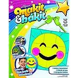 Makit & Bakit Deluxe Suncatcher Kit-Emoji Blushing