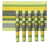 #6: TiedRibbons® Placemats for dining table set of 6 (30 cm X 45 cm) | mats for dining table | Table Placemats - Set Of 6 Table Mats