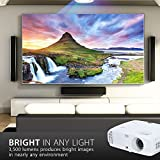 ViewSonic PX747-4K Ultra HD Home Cinema Projector (3500 Lumens Speakers HDMI HDR Compatible) - White