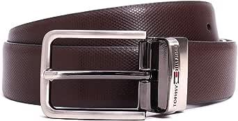 Tommy Hilfiger Men's Leather Belt (TH/BINTANREV0103LCR_Black/Brown_L-100 cm)