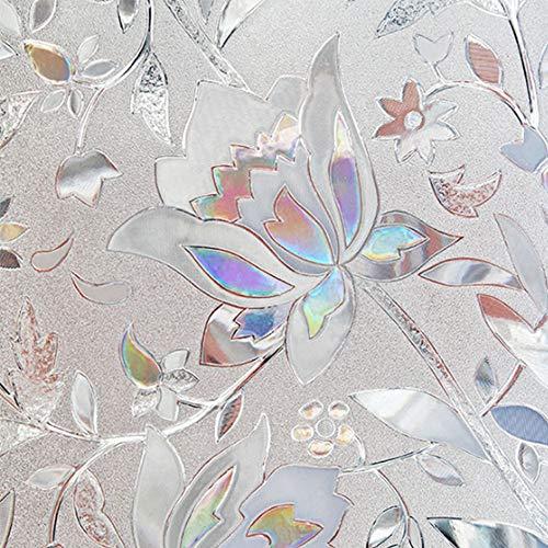 ZZH Economic Window Sticker Glasaufkleber Window 3D Door PVC Beautiful (Glasmalerei-film Für Windows)