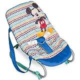 Hauck Rocky - hamacas bebes Disney/de 0 meses hasta 9 kg/funcion mecedora/respaldo ajustable, sistema de arnes y asas de tran