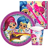 Shimmer and Shine Party Supplies - Snack Party Pack by BirthdayExpress