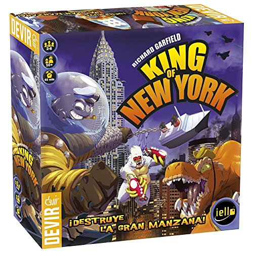 Devir - King of New York, Juego de Mesa (BGHKINGNY)