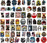 Sanmatic 100 Pcs Star Wars Sticker Pack,Unique Cool Stickers Notebook Guitar Skateboard Travel Stickers Waterproof ... (Series-3)