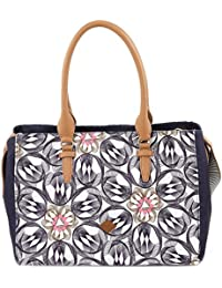 Oilily Damen Carry All Schultertasche, Grau (Charcoal), 17 x 27 x 36 cm