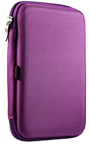 Navitech lila harte Schutzhülle für dieSony Xperia Z3 Tablet Compact