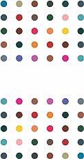 Sunaina Women's Fabric Matching Plaza Round Bindi, Size-5 (Multicolour, MP607) - Pack of 5