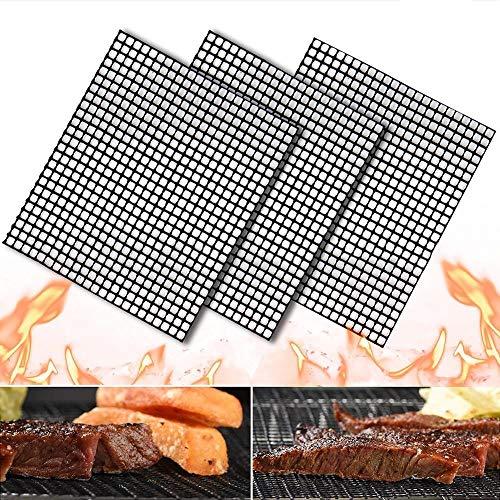 ZLRN 3pcs / Set 40 * 33 cm BBQ Meshes Grillmats Parrillas...