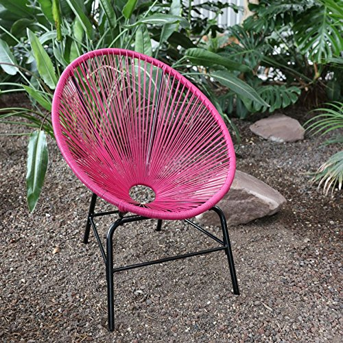 Retrosessel Cocktailsessel Clubsessel Loungesessel Relaxsessel Esszimmerstuhl, Farbe:pink
