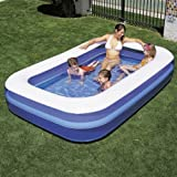 Piscina Inflable Rectangular 262x175x51cm