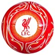 Liverpool FC Warrior Training Graphic Soccer Ball Red from Paramount