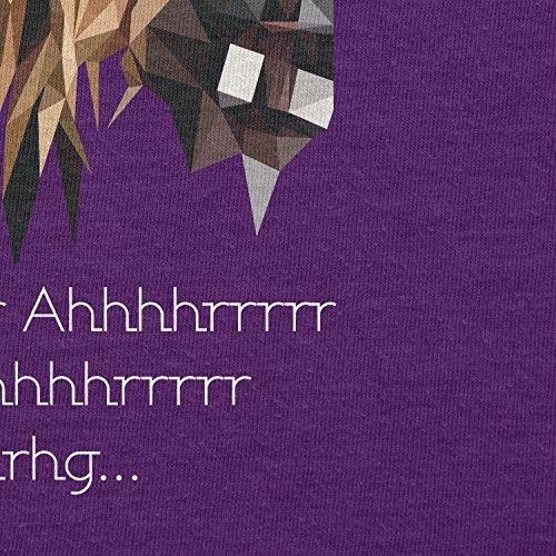 TEXLAB - Poly Chewie - Herren T-Shirt Violett