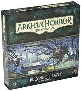 Fantasy Flight Games Expansión para Juego de Cartas Arkham Horror, FFGAHC02, El Legado Dunwich LCG, en Forma deTarjetas