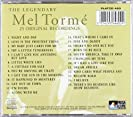 The Legendary Mel Tormé