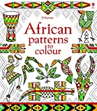 African patterns to colour...