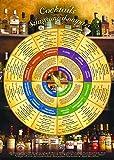 Cocktails Stimmungskompass für die Wand (DIN-A2 2018) – Welcher Cocktail soll es sein? Entscheiden Sie nach Stimmung, Anlass und GeschmackFür ... und für Ihre Hausbar und Cocktailparty