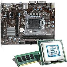Intel Core i3-7100 / MSI H110M Pro-VD Mainboard Bundle / 8192 MB | CSL PC Aufrüstkit | Intel Core i3-7100 2x 3900 MHz, 8 GB DDR4, Intel HD Graphics 630, GigLAN, 7.1 Sound, USB 3.1 | Aufrüstset | PC Tuning Kit