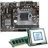 Intel Core i3-7100 / MSI H110M Pro-VD Mainboard Bundle / 8192 MB | CSL PC Aufrüstkit | Intel Core i3-7100 2x 3900 MHz, 8 GB DDR4, Intel HD Graphics 630, GigLAN, 7.1 Sound, USB 3.1 | Aufrüstset | PC Tuning Kit