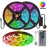 LED Strip Lights Kits,Elfeland Strips Lighting 10M 300LEDs RGB 5050 Color Changing IP65