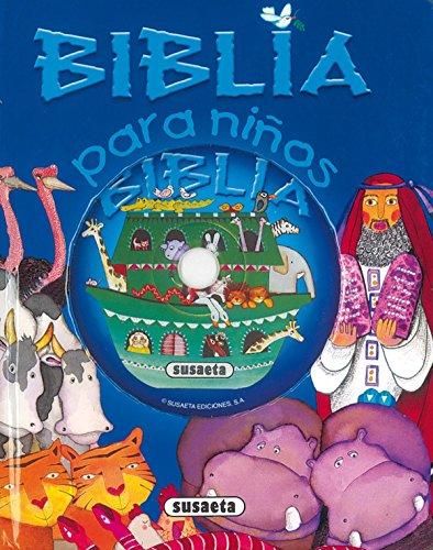 Biblia para niños con CD (Canta Y Cuenta Con CD) por Susaeta Edicones S A