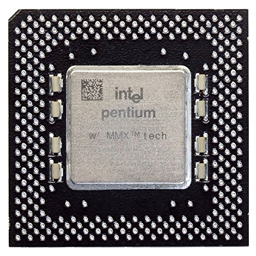 Intel Pentium MMX SY060 200MHz/66MHz Socket/Sockel 7 CPU FV80503200 Processor (Zertifiziert und Generalüberholt)