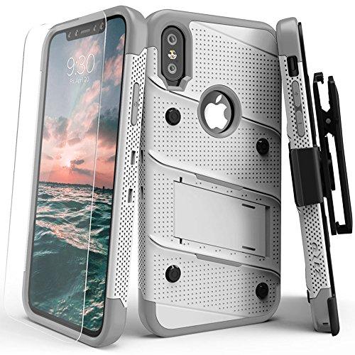 Zizo BOLT-IPH8-WHGR Tasche für Apple iPhone X,