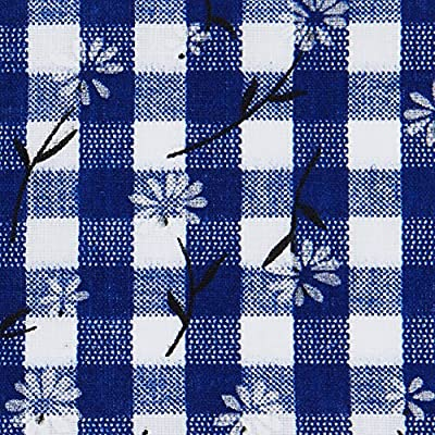 beo Bank MFZ13 FZ 70/2 LU Festzeltauflagen Set für 50 cm, Tische, 2 Bankauflagen 220 x 25 cm mit 1 Tischdecke 240 x 70 cm, blau / weiβ von HVI - Gartenmöbel von Du und Dein Garten