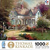 Thomas Kinkade Painter of Light 100 Piece Miniature Puzzle - Home is Where the Heart is II