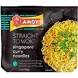 Amoy recta en Wok Singapur fideos 2 x 150 g