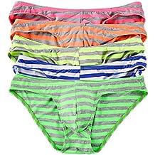 Calzoncillos Bikini Slips Low Rise Strings Pantalones Cortos Pants b8383pinl 5 unidades
