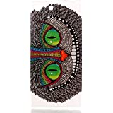 case cover para Sony Xperia M5 Smartphone,Crisant Ojos verdes del búho Diseño Protección suave TPU Gel silicona Teléfono Celular Back funda Carcasa para Sony Xperia M5 Smartphone
