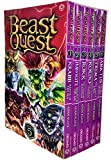 Beast Quest Series 5 The Shade of Death 6 Books Collection Box Set by Adam Blade (Krabb Master of the Sea, Hawkite Arrow of the Air, Rokk The Walking Mountain, Koldo The Arctic Warrior, Trema The Earth Lord and Amictus The Bug Queen)