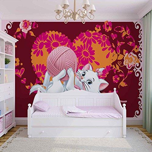 Disney Aristochats Marie Papier Peint Décor Forwall AF803P8 (368cm x 254cm) Murale Art Image