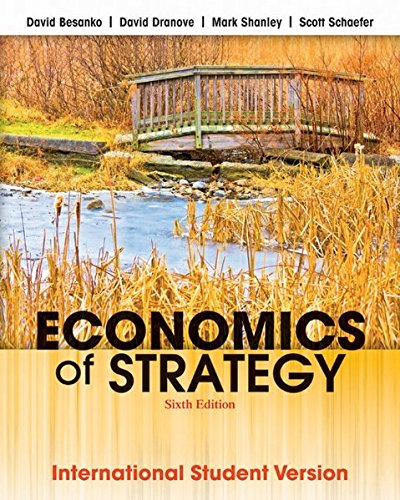Economics of Strategy: International Student Version