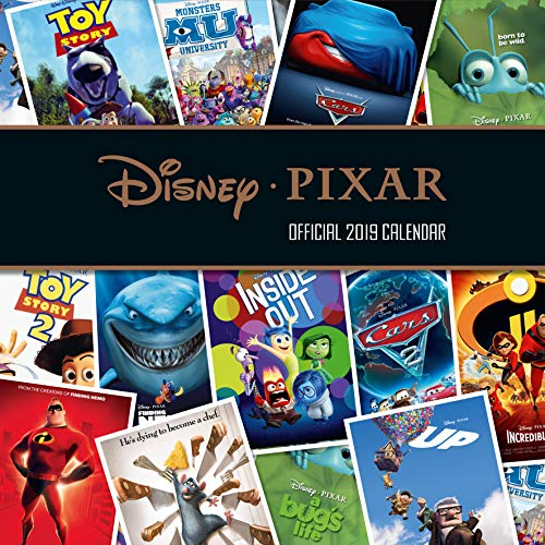 Pixar Collection Official 2019 Calendar - Square Wall Calendar Format par Pixar Collection