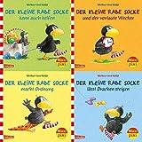 Maxi-Pixi-4er-Set 57: Rabe Socke (4x1 Exemplar)