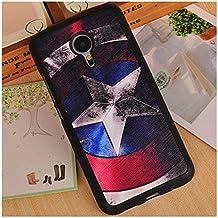 Prevoa ® 丨Meizu MX5 Funda - Colorful Silicona Protictive Carcasa Funda Case para Meizu MX5 5,5 Pantalla Smartphone - 9