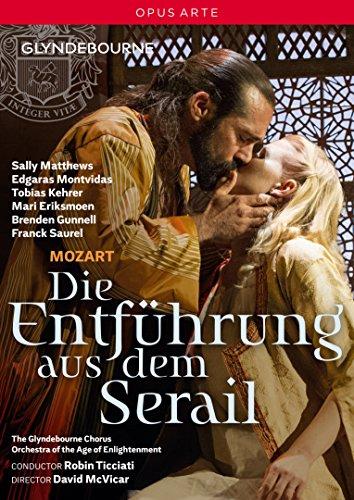 Tanz Kostüm David - Mozart: Die Entführung aus dem Serail (Glyndebourne Festival, 2015) [DVD]