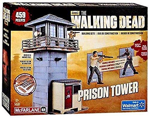ウォーキングデッド テレビシリーズ ウォルマート限定 ビルディングセット 459ピース プリズンタワー / THE WALKING DEAD TV SERIES BUILDING SETS PRISON TOWER【マクファーレントイズ】
