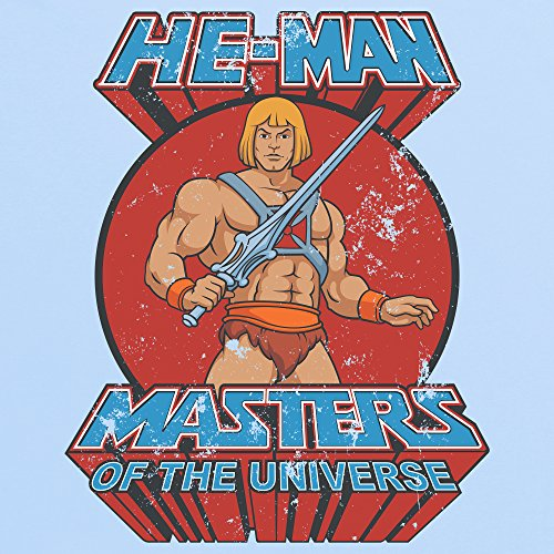 Official Masters of the Universe - He-Man T-Shirt, Damen Himmelblau