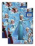 Disney - Papel para Envolver Regalo Oficial de Frozen, Compre un Paquete y Consiga Otro de Regalo. 4 Pliegos por el Precio de 2